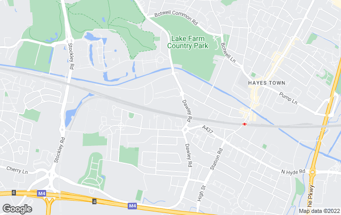 Map for Fizzy Enterprises LLP, Hayes