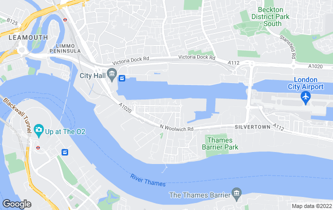 Map for Royal Docks Property Services, Royal Victoria Docks