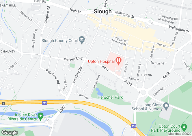 Map for Upton Park,