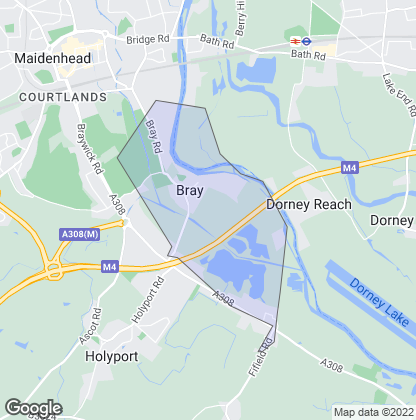 Map of property in Bray
