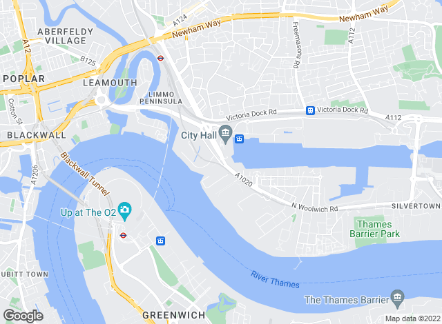 Map for Waterfronts, London