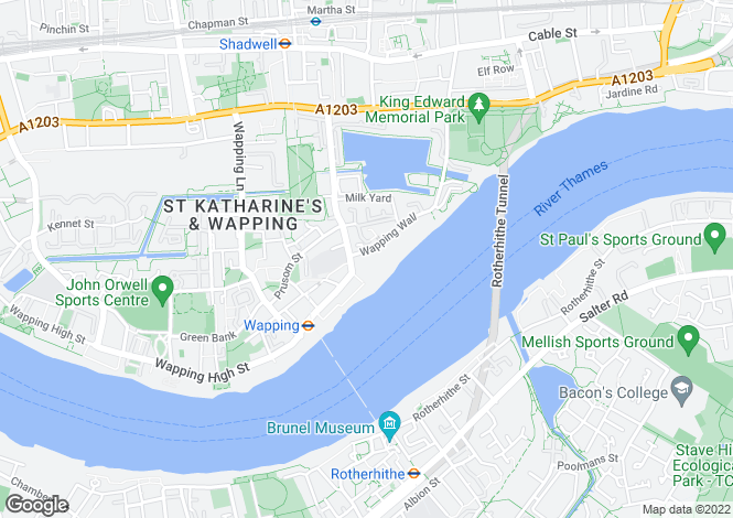Map for New Crane Wharf, 8 New Crane Place, London, E1W