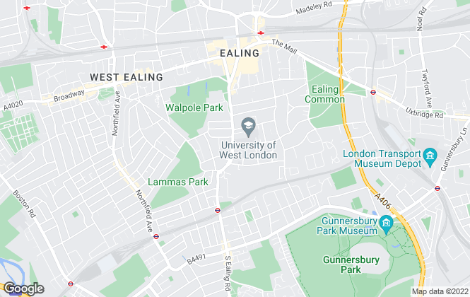 Map for Thorgills, Ealing