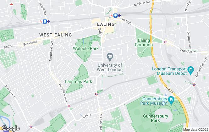 Map for Thorgills, Ealing
