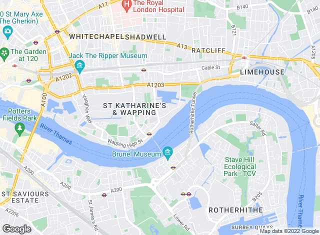 Map for DAA Residential, London - Sales