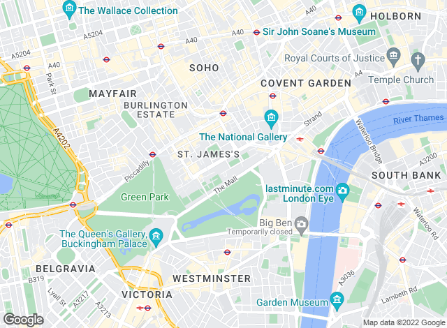 Map for Suttons, London