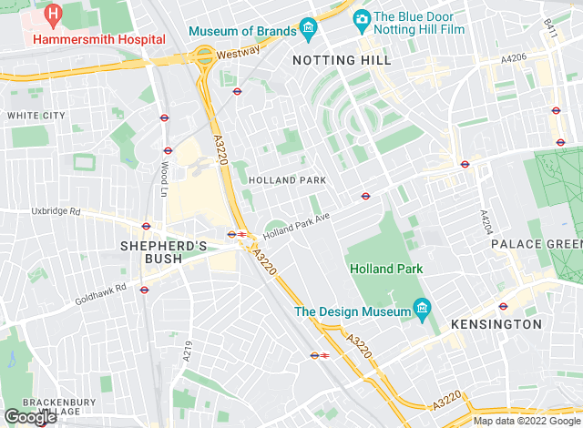 Map for Cluttons LLP , Holland Park - Lettings