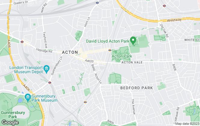 Map for iProperties Ltd, Acton