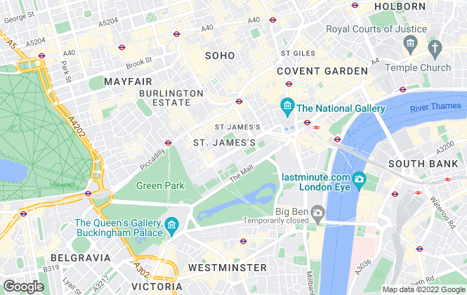 Map for White & Co Property Advisory Limited, London