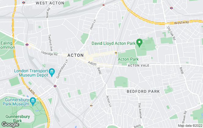 Map for Rolfe East, Acton