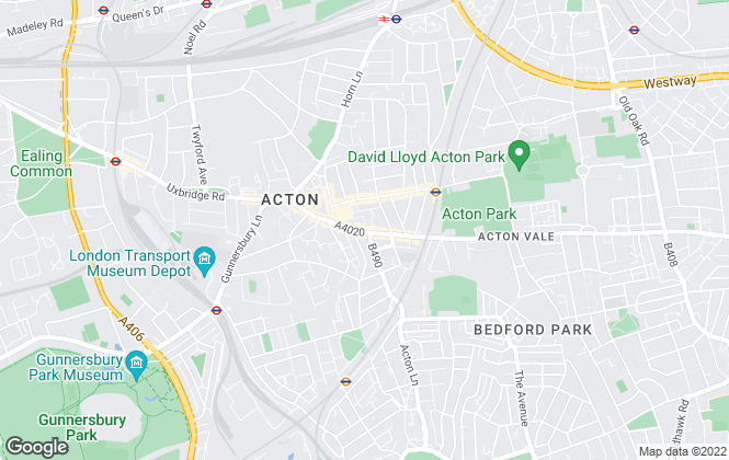 Map for Robertson Smith & Kempson , Acton