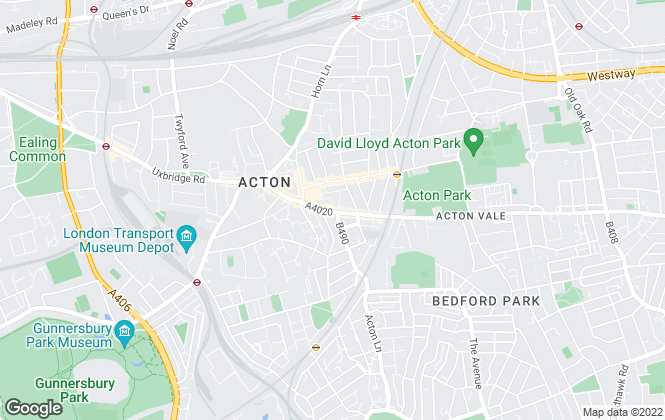 Map for Robertson Smith & Kempson, Acton Lettings