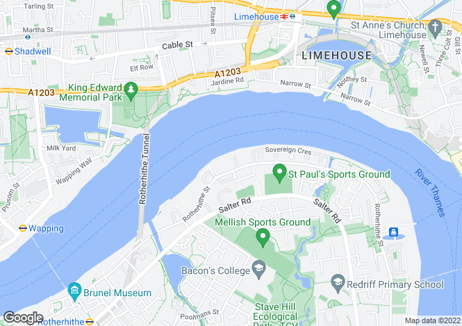 Map for Windsor Court, Surrey Quays, SE16