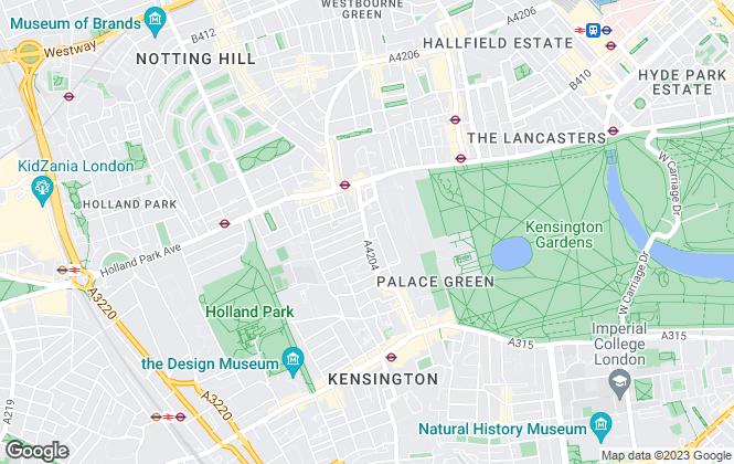 Map for Winkworth, Kensington