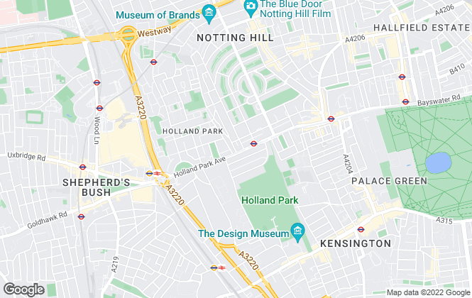 Map for Barnard Marcus Lettings, Holland Park Lettings