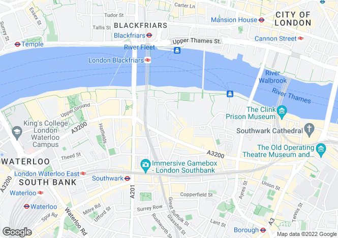 Map for Bankside, 60 Holland Street, London SE1 9JF