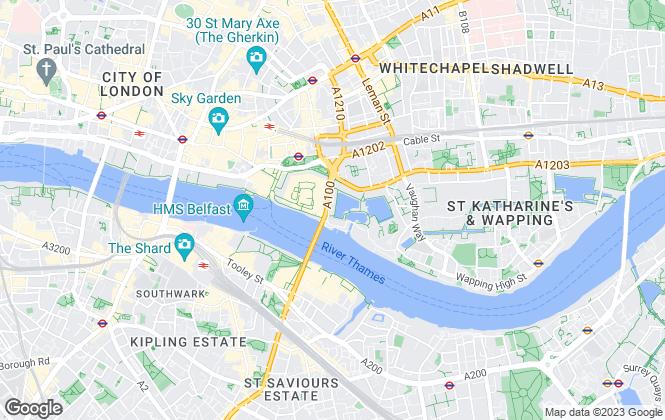 Map for CityZEN, London