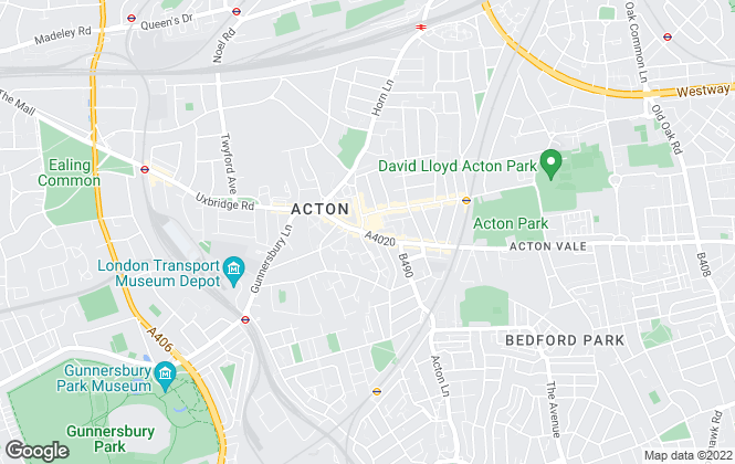 Map for Dexters, Acton
