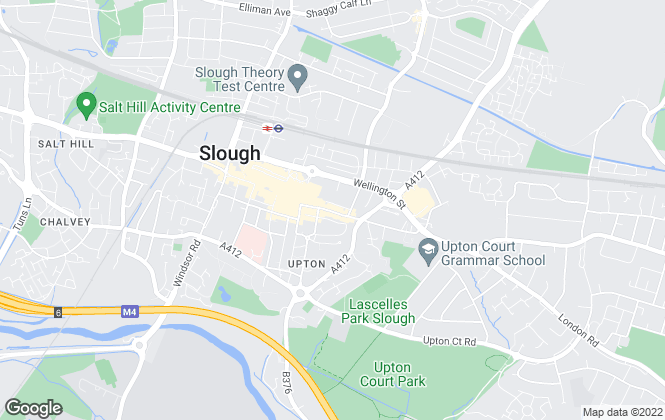 Map for Century 21, Slough