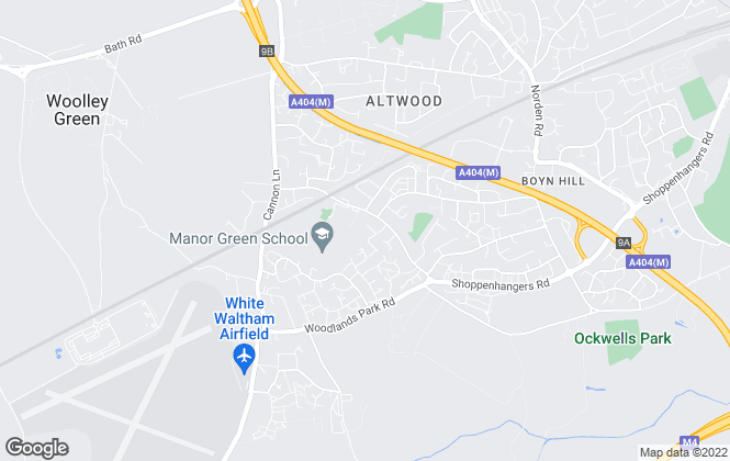 Map for Aston Gray, Maidenhead
