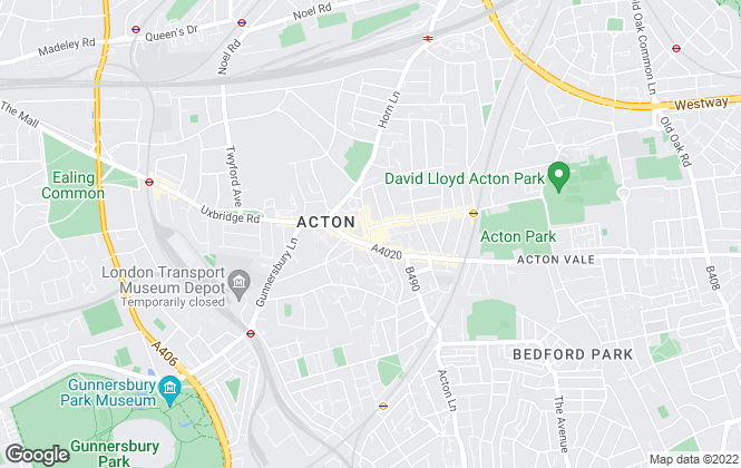 Map for Goodman, Acton
