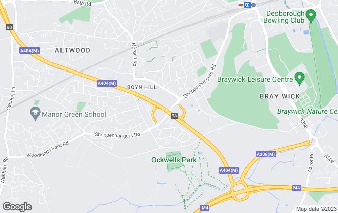 Map for Lambert Smith Hampton, Maidenhead