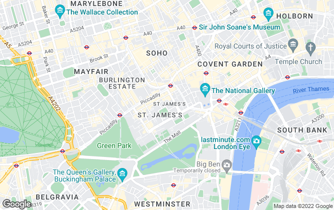 Map for Lixing, London