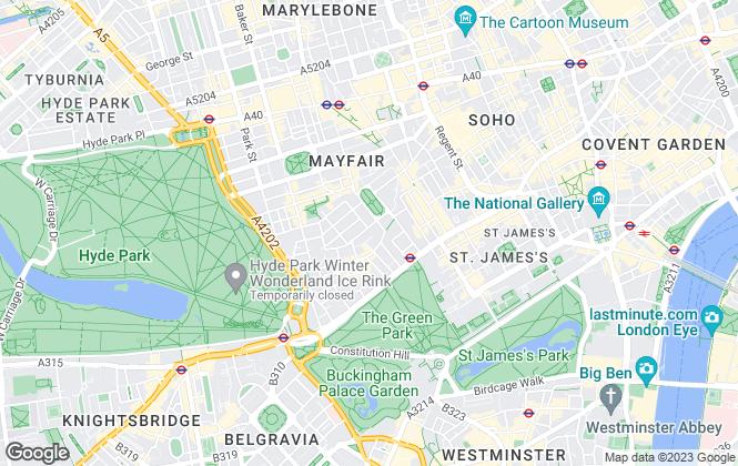 Map for Brunel Estates, London