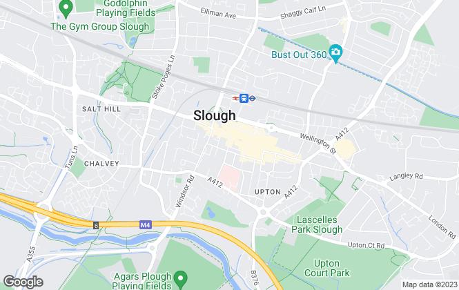Map for Kingdom Property Services Ltd, Slough