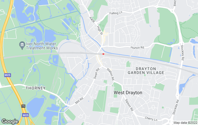 Map for R Whitley & Co, West Drayton