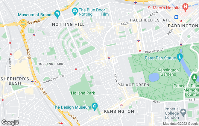 Map for YOUhome, London - Sales