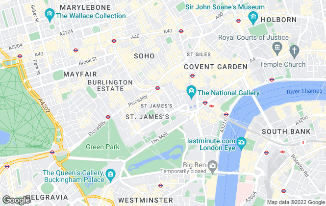 Map for PARADIGM PROPERTY CONSULTANTS LLP, London