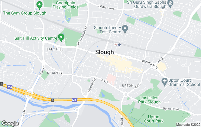 Map for Focus , Slough - lettings