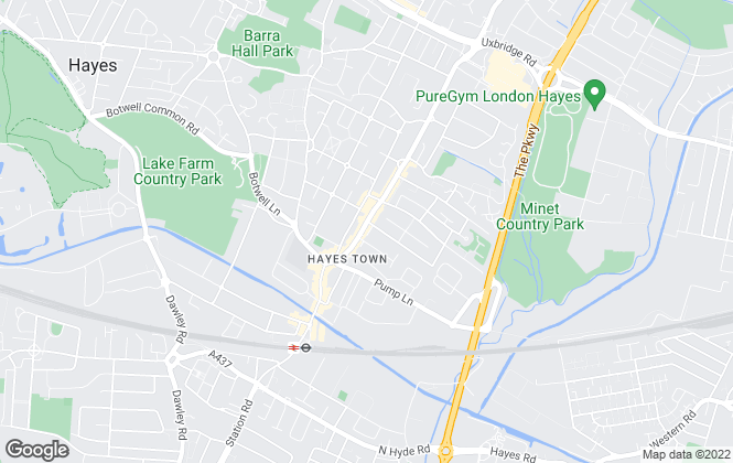Map for Simple Estate Agents, Hayes - Sales