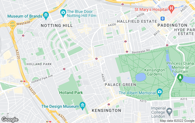 Map for Go Native, Dalston