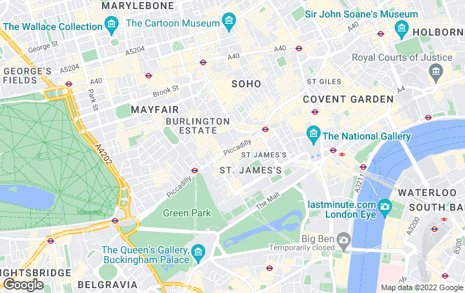 Map for Levy Real Estate LLP, London