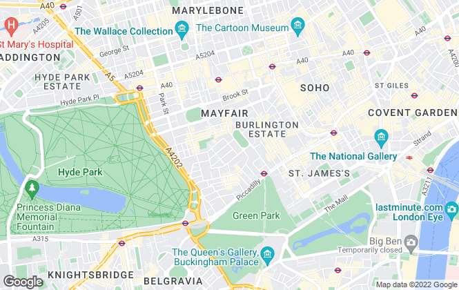 Map for Clifton Property Partners Ltd, London