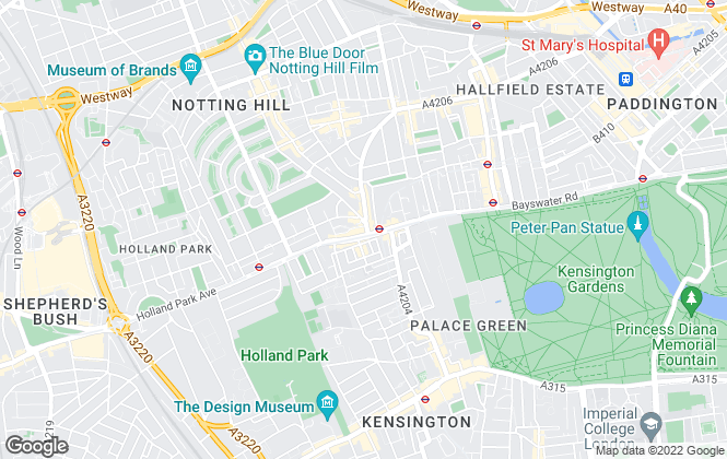 Map for Go Native, London