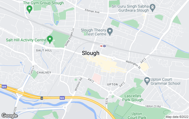 Map for The Frost Partnership, Slough