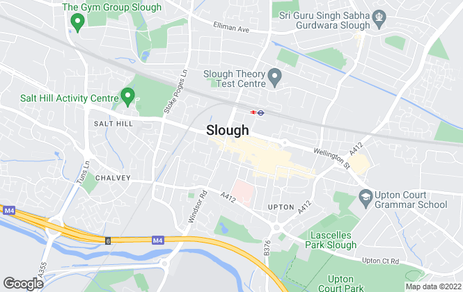 Map for Connells, Slough