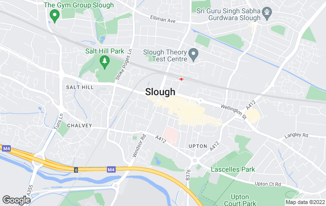 Map for Connells Lettings, Slough
