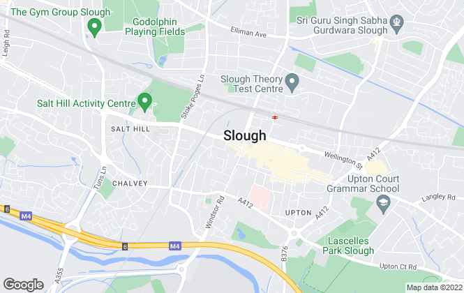 Map for B Simmons & Son, Slough