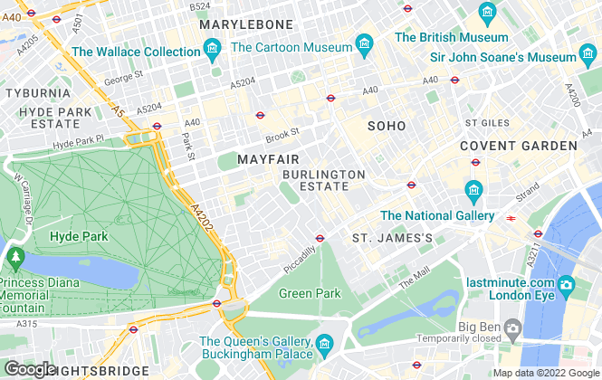 Map for UK Investment Property Services, London
