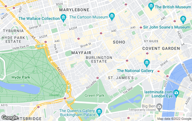 Map for be:here, London