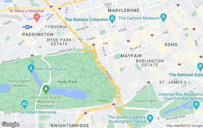 Map for Access Self Storage Limited, London