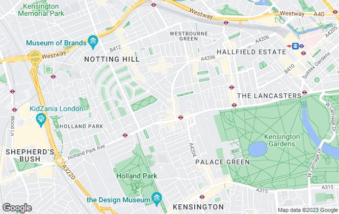 Map for Marsh & Parsons, Notting Hill