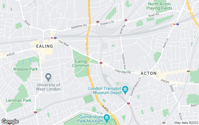 Map for Winkworth, Ealing & Acton