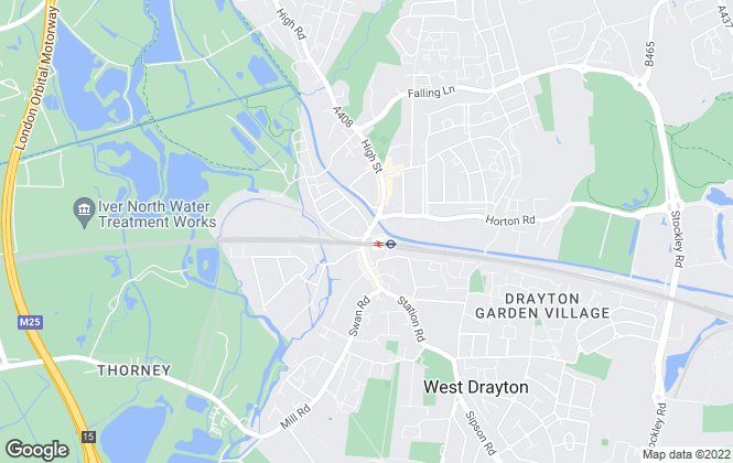Map for Cameron Estate Agents, West Drayton