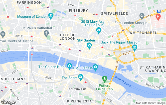 Map for RW Invest London, London