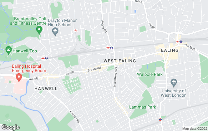 Map for Dexters, West Ealing